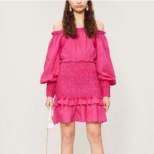 NWT Alexis Marilena Off-Shoulder Dress